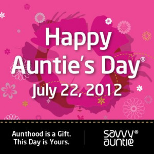 Happy Auntie's Day July 22, 2012! Poster and eCard!