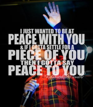 Rapper, wale, quotes, sayings, peace, hip hop