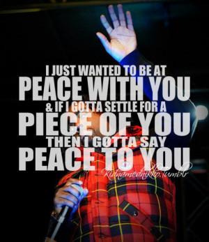 Rapper, wale, quotes, sayings, peace, hip hop