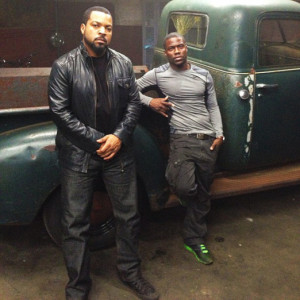 """... Ice Cube/Kevin Hart comedy """"Ride Along,"""" which isn't due in"""