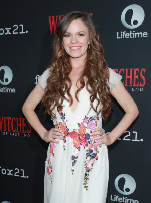 Rachel Boston Actress Rachel Boston attends 39 Witches Of East End