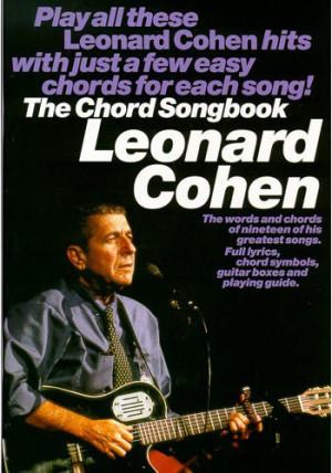 anthem chords leonard cohen