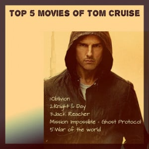 Tom Cruise Famous Movi...