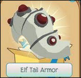 White Tail Armor Animal Jam Beta