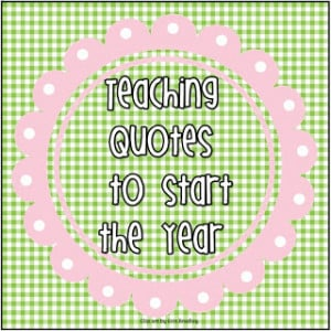 Welcome Back Quotes For Teachers