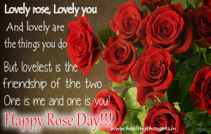 Rose Day-Love Quote-Valentines Day