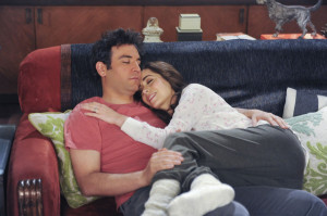 Josh Radnor and Cristin Milioti Ted (Josh Radnor) finishes telling his ...