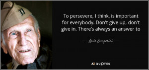 Louis Zamperini Quotes