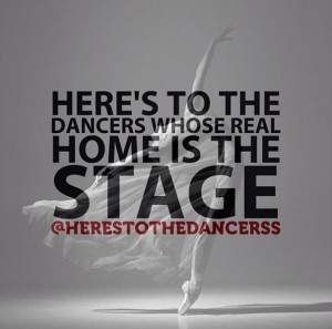 ... dancers...one of the most amazing and rewarding feelings in the world