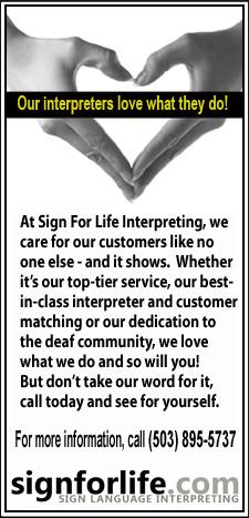 Your Deaf Sign Language Interpreting Solutions Partner in Portland ...
