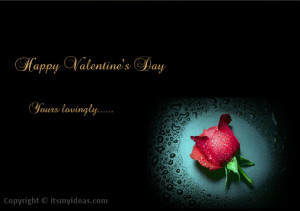 ... Happy Valentine Day 2014 Greeting Cards with Romantic Love Quotes (10