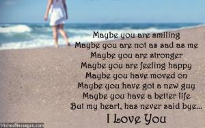 quotes about loving your ex still quotesgram