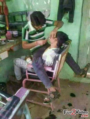 Barber Haircut Styles Funny