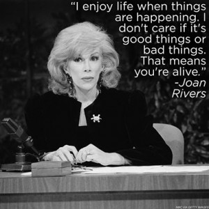 Joan Rivers with Quotes