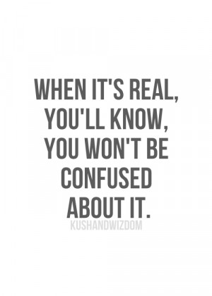 confused, love, quotes, real