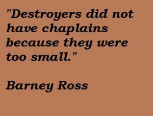 Barney ross quotes 3