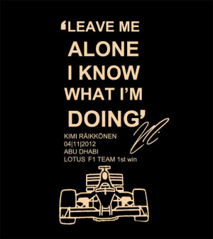 martin brundle kimi you missed the presentation by pele kimi yeah ...