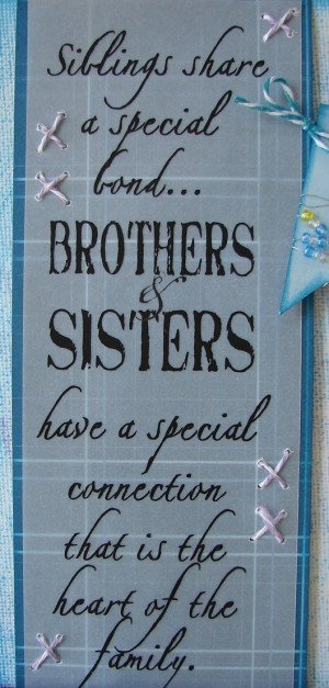 The Vellum Quote (Siblings Share) perfectly says what I wanted to say ...