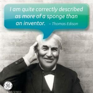 Edison! #GE #quote