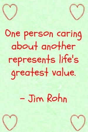 Caregiver Quote - National Family Caregiver Month