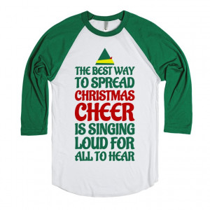 Cheer Shirts With Quotes Christmas cheer is singing