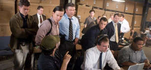 Departed. Center from left to right: Sergeant Dignam (MARK WAHLBERG ...