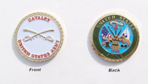 United States Cavalry Challenge Coin