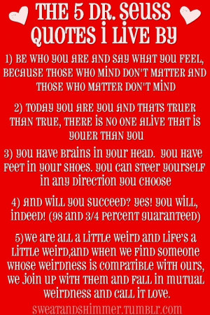 25+ Meaningful Dr Seuss Quotes