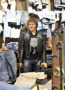 The legendary creator of Diesel Jeans, designer Renzo Rosso, sits down ...