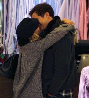 Joshua Jackson Kissing Diane Kruger in Vancouver