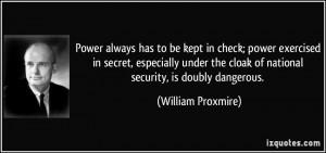More William Proxmire Quotes