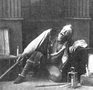 Description Stanislavski in Pushkin The Miserly Knight 1888.jpg