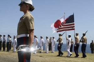 female marines dress uniform