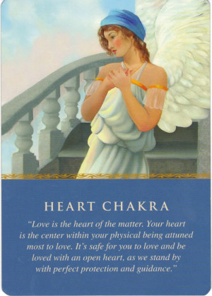 Angel Card of the Day :: Heart Chakra