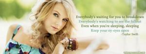Taylor Swift Eyes Open Lyrics