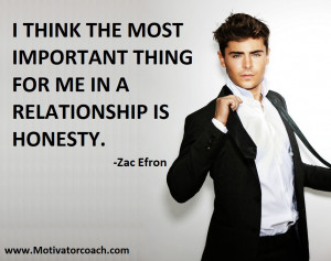 Zac Efron Quotes