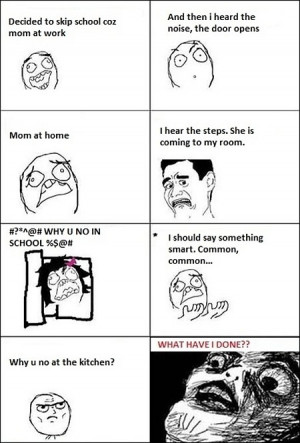 Funny photos funny meme mom kitchen