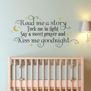Baby Nursery Wall Quotes Decorative Vinyl Lettering