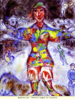 Marc Chagall Cows Over Vitebsk