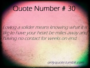 Quotes About Love And Distance Military #3