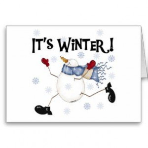 Winter Blues pictures and quotes | Snowman Sayings Cards, Snowman ...