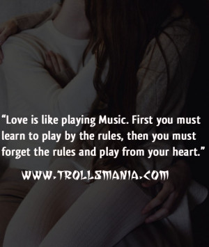 Music Quotes About Love