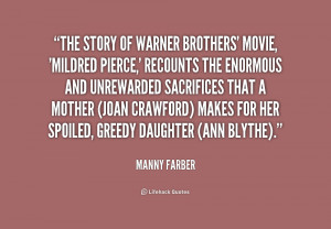 Warner Brothers Quotes