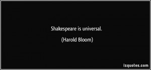 More Harold Bloom Quotes