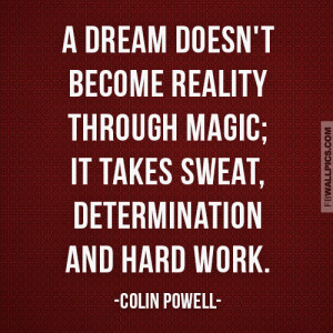 Quotes About Determination And Hard Work Hard work quot.