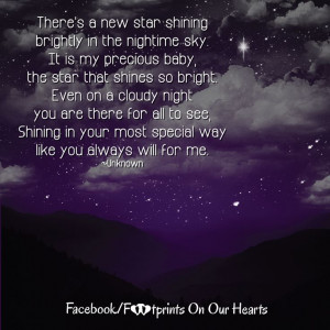 There's a new star shining brightly in the nighttime sky. It is my ...