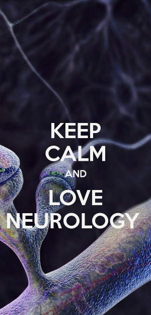 Keep Calm And Neurology Resident Poster