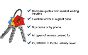 Landlords insurance - compare quotes