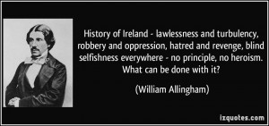 History of Ireland - lawlessness and turbulency, robbery and ...