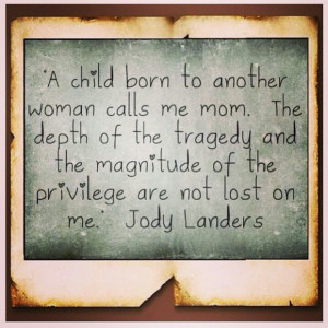 child born to another woman.. How thankful we are to the woman who ...